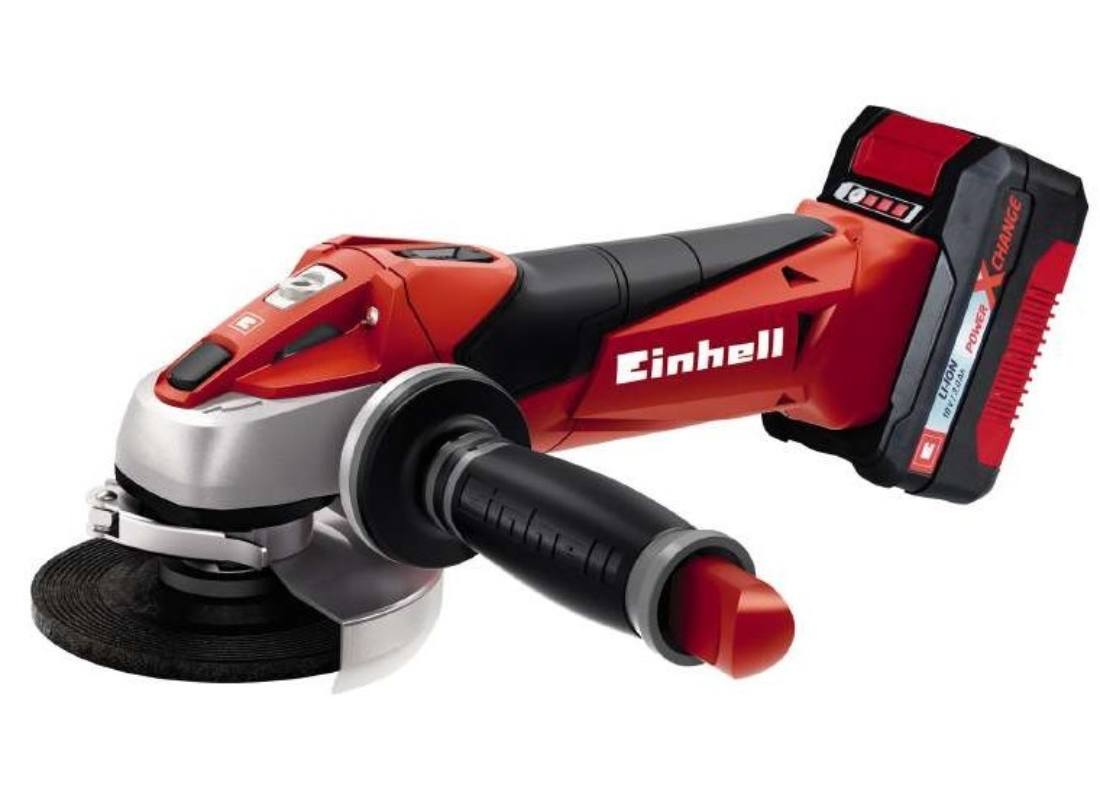EINHELL TE-AG 18 LI KIT AKKUS SAROKCSISZOLÓ POWER X-CHANGE