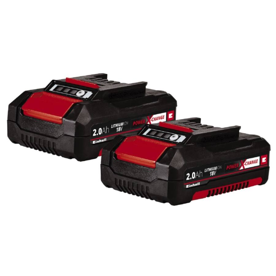 Einhell Power X-Change akkumulátor 18V 2,0Ah Li-Ion - Twin Pack