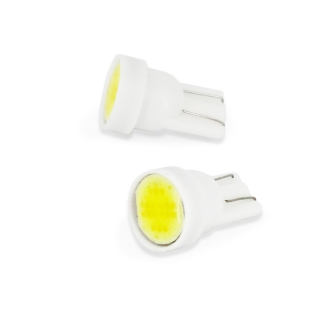 LED izzó  CLD026 T10-1W-90l-18 CHIP COB LED  2 db/bliszter